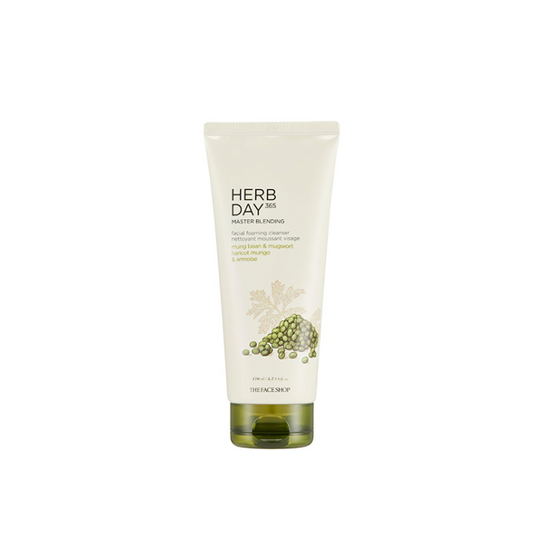 Herb Day 365 Master Blending Foaming Cleanser Mungbean & Mugwort (170ml)