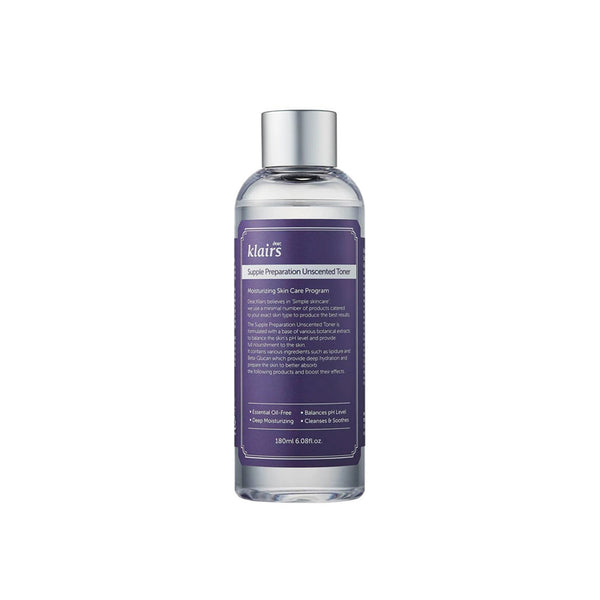 Supple Preparation Unscented Facial Toner (180ml)