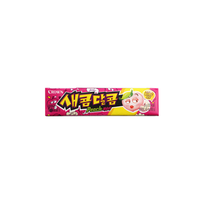 Sweet and Sour Chewy Candy (29g) - Peach