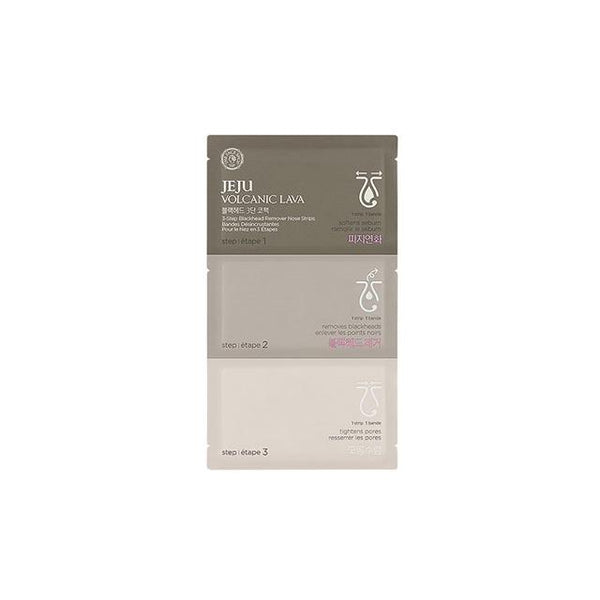 Jeju Volcanic Lava 3-Step Blackhead Remover Nose Strip (1 sheet)