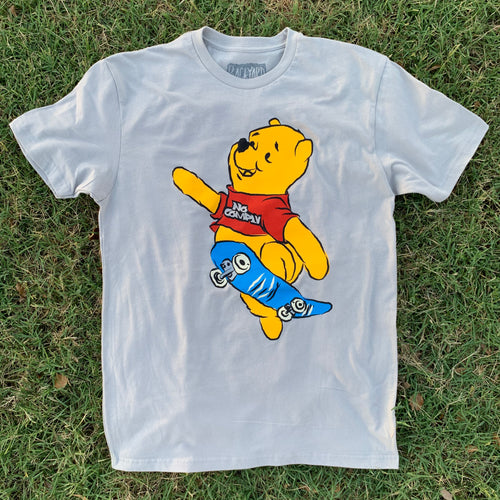Pooh Comply Tee (Silver)