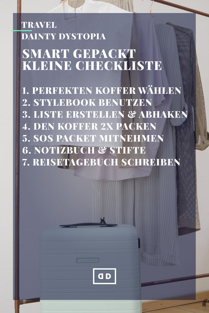 DAINTY DYSTOPIA-Smartes-Koffer-packen-Checkliste