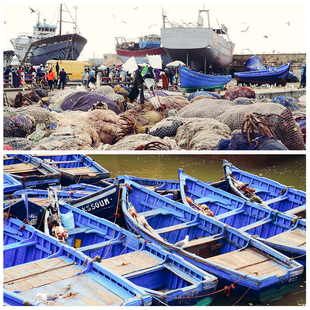 DAINTY DYSTOPIA - Essaouira Travel Guide Hafen Boote