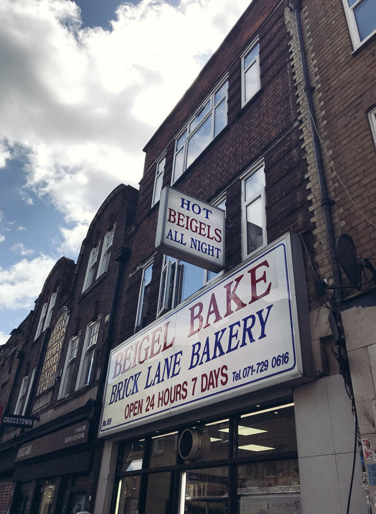 DAINTY DYSTOPIA - TravelGuide-London-Shoreditch-BrickLane-BagelBake