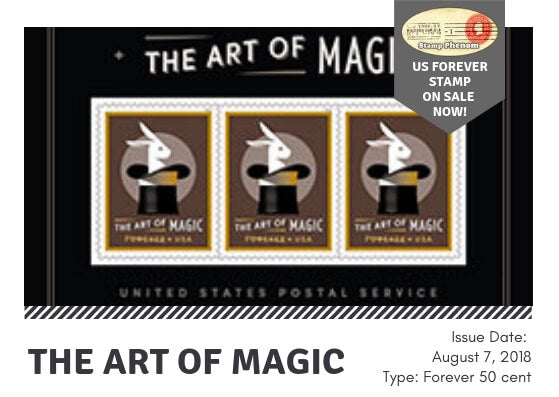 Art of Magic United States Forever Stamps - Pane of 20