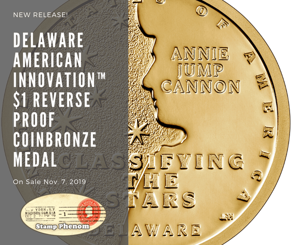 Delaware American Innovation™ $1 Reverse Proof Coin