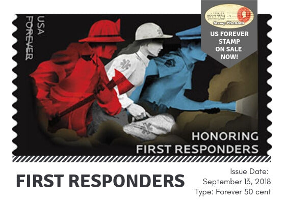 First Responders U.S. Forever Stamp