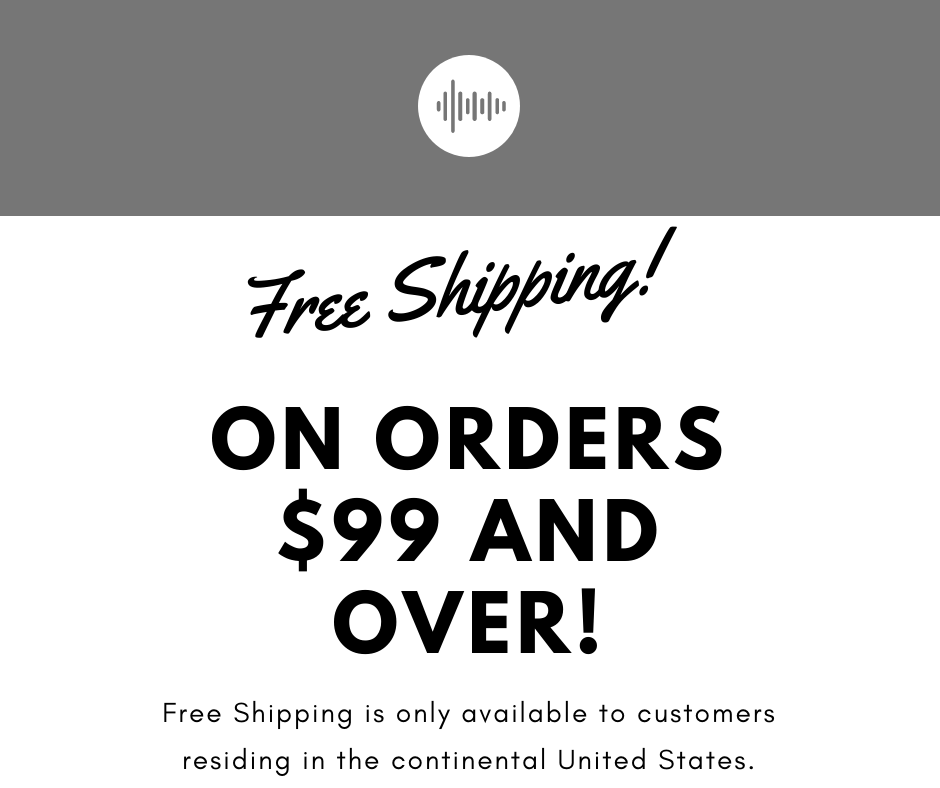 Free Shipping on orders $99 and over!