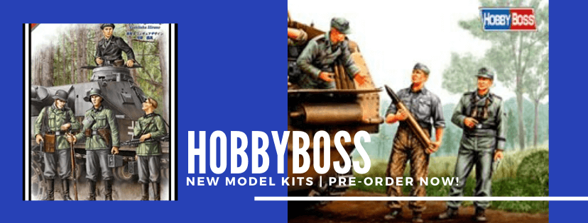 New Model Kits by HobbyBoss | Pre-Order Now!