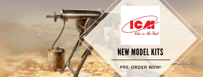 New Model Kits by ICM