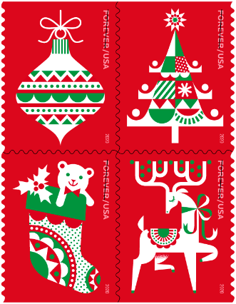 Holiday Delights USA Forever Stamp
