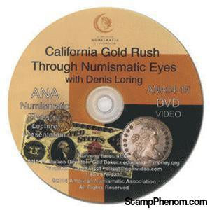 California Gold Rush Through Numismatic Eyes-Coin DVD's and Software-Advision-StampPhenom
