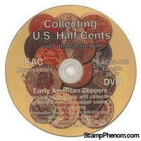 Collecting U.S. Half Cents-Coin DVD's and Software-Advision-StampPhenom