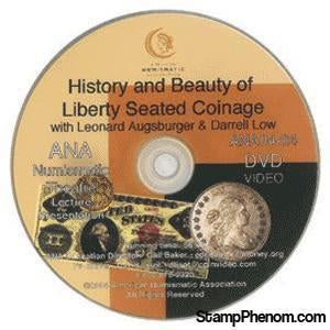 History and Beauty of Liberty Seated Coinage-Coin DVD's and Software-Advision-StampPhenom