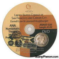 Liberty Seated Coinage Of San Fran and Carson City-Coin DVD's and Software-Advision-StampPhenom