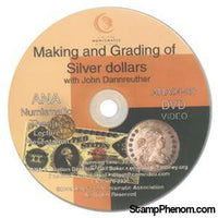 Making and Grading of Silver Dollars-Coin DVD's and Software-Advision-StampPhenom