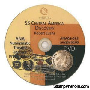 SS Central American Discovery-Coin DVD's and Software-Advision-StampPhenom