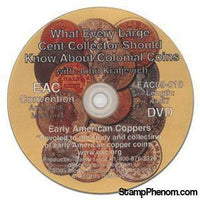 What Every Large Cent Collector Should Know About Colonial Coins-Coin DVD's and Software-Advision-StampPhenom