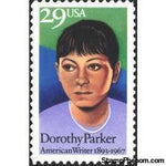 United States of America 1992 Dorothy Parker-Stamps-United States of America-Mint-StampPhenom