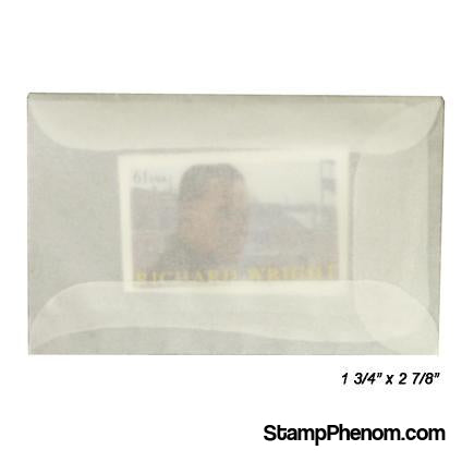 #1 Glassine Envelopes-Glassines-Guardhouse-100-StampPhenom