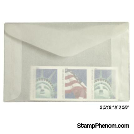 #2 Glassine Envelopes-Glassines-Guardhouse-100-StampPhenom