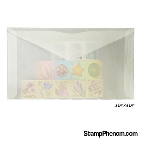 #6 Glassine Envelopes-Glassines-Guardhouse-100-StampPhenom