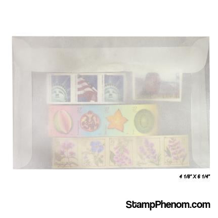 #7 Glassine Envelopes-Glassines-Guardhouse-100-StampPhenom