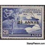 Aden 1949 UPU Issues-Stamps-Aden-Mint-StampPhenom
