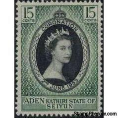Aden 1953 Coronation Issue-Stamps-Aden-Mint-StampPhenom