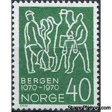 Norway 900th Anniversary of Bergen-Stamps-Norway-Mint-StampPhenom
