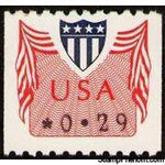 United States of America 1992 Computer Vended Postage-Stamps-United States of America-Mint-StampPhenom