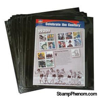 Mint Sheet Pages Only, Pkg. of 13 (1 pocket)-Mint Sheets & Album-Supersafe-StampPhenom