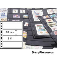 4 Pocket VARIO Sheets, Clear-Binders & Sheets-Lighthouse-StampPhenom