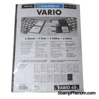 6 Pocket VARIO sheets, Clear-Binders & Sheets-Lighthouse-StampPhenom