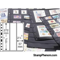 3 Pocket vertical VARIO Sheets, Clear-Binders & Sheets-Lighthouse-StampPhenom