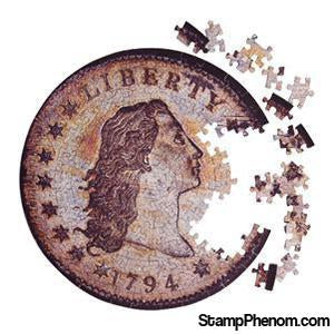 Coin Puzzle Contursi 1794 Silver Dollar-Coin Collecting For Kids-StampPhenom-StampPhenom