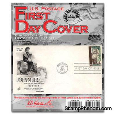 First Day Cover-Stamp Packets-HE Harris & Co-StampPhenom