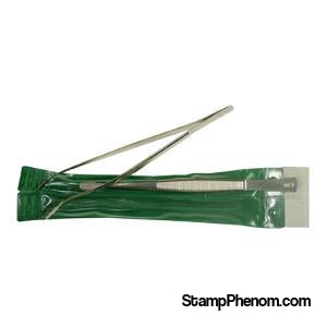 "Angled Tip Tongs - 6""-Stamp Tools & Accessories-Showgard-StampPhenom"