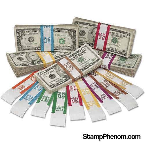 Currency Straps $1000 - Yellow-Coin Wrappers & Tools-MMF-StampPhenom