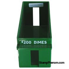 Dime Rolled Large Capacity Coin Trays-Trays for Wrapped Coins-MMF-StampPhenom
