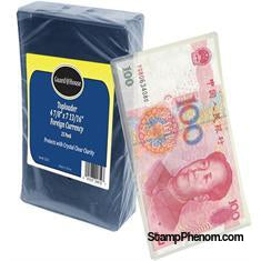 Foreign Currency Toploader - 8 3/4x4 7/8-Toploaders-Guardhouse-StampPhenom