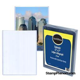 Ledger Size Toploader - 11x17 pack of 25-Toploaders-Guardhouse-StampPhenom