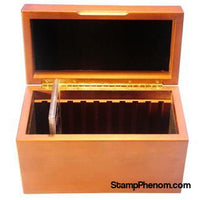 Wood GSA Box - 10 Slabs-Display Boxes for Certified Coins-Guardhouse-StampPhenom