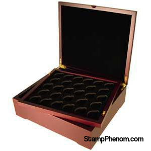 Guardhouse Wood Four Tray Box-Display Boxes for Round Coin Holders-Guardhouse-StampPhenom