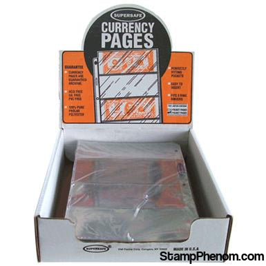 4 Pocket Pages (Archival) - Modern Currency-Notebook Pages & Binders-Supersafe-StampPhenom