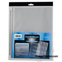 Guardhouse Shield 1 Pocket Archival (10 pack) Polypropylene Pages-Notebook Pages & Binders-Guardhouse-StampPhenom
