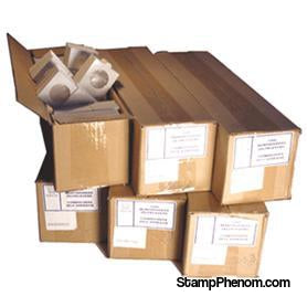 Paper 2x2s - Bulk Quarter-Self-adhesive Paper Holders-Supersafe-StampPhenom