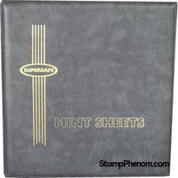 MA1 - Deluxe Mint Sheet Album, 100 Sheets (Grey)-Mint Sheets & Album-Supersafe-StampPhenom