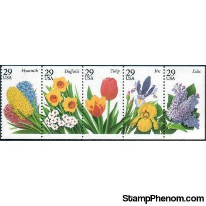United States of America 1993 Garden Flowers-Stamps-United States of America-Mint-StampPhenom