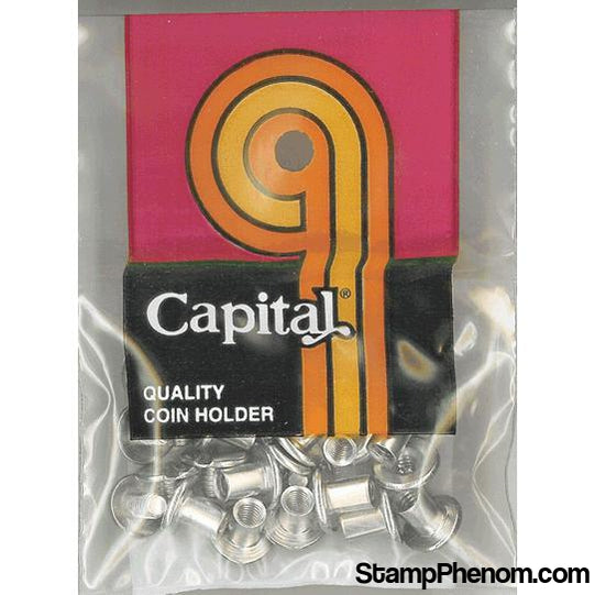 Metal Screws & Posts (Doz)-Capital Plastics Holders & Capsules-Capital Plastics-StampPhenom